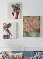 Warm Design Çiçekler Motifli Tablo Renkli